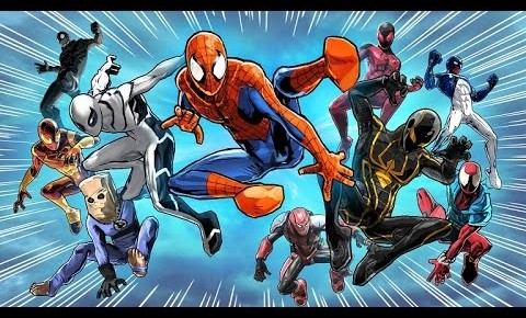 spiderman unlimited character teaser