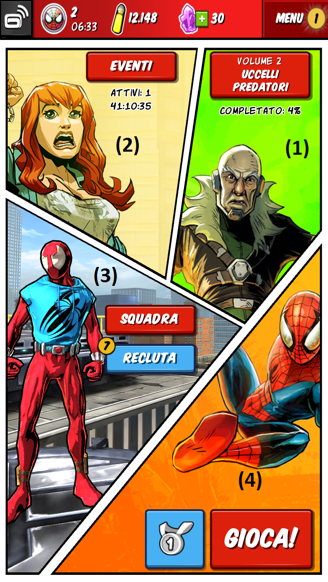 spiderman unlimited main