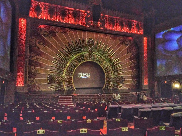il palco di kingdom of dreams