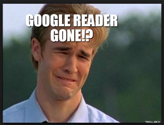 google reader gone?